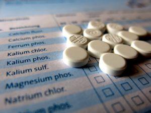 Homeopathic pills, aka sugar pills